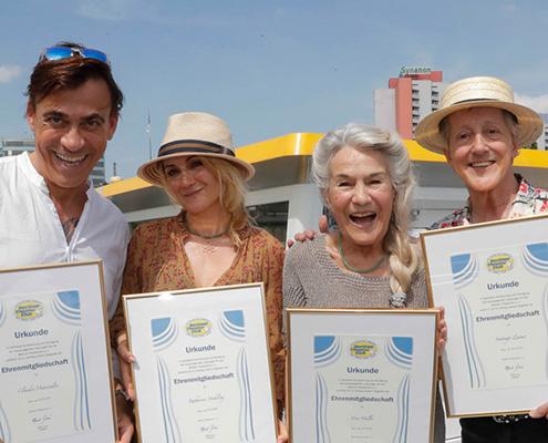 Claudio Maniscalco, Katharine Mehrling, Vera Müller & Santiago Ziesmer