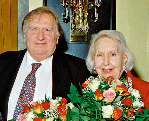 Edith Hancke † & Klaus Sonnenschein