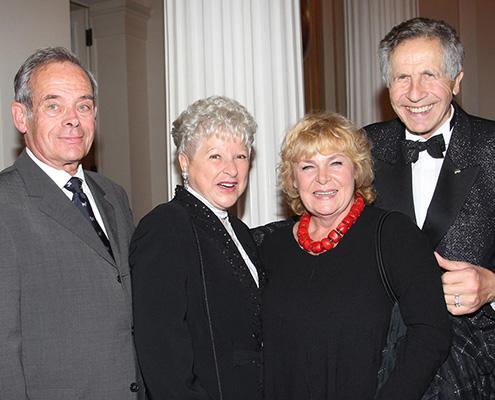 Horst Pillau, Reni Laur, Dagmar Biener, OtfriedLaur