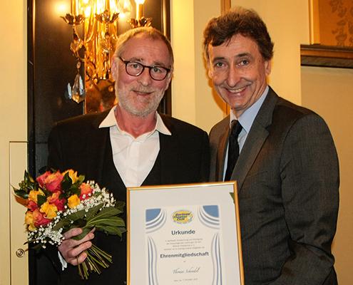 Thomas Schendel (hier mit dem Präsidenten Dirk Streich)